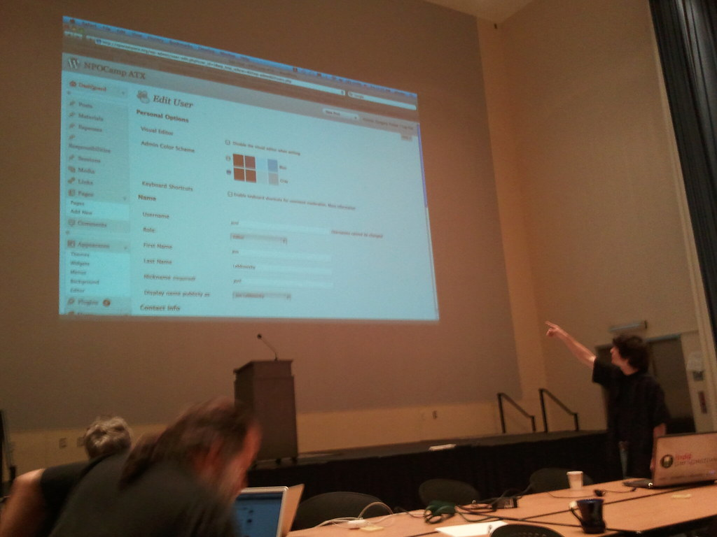 Wordpress as a CMS. Photo by Tom Brown